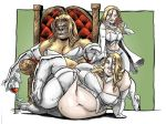 Emma Frost 3 of a kind by Knightmare10880