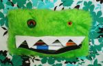 Bright Green Pencil Case 1 by StuffItCreations