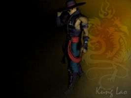 Kung lao render by Jill-Valentine666