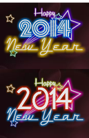 Happy New Year 2014  2.0 by nems2
