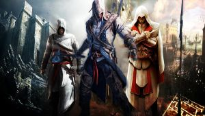 Asassin's creed : 3 master assassins by Nakshatras1