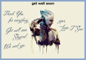 Get Well Card by DragonConcept