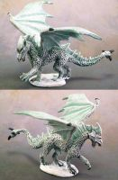 Young White Dragon by Girot