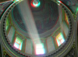 Rome 20 3D Anaglyph by yellowishhaze
