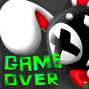 Game Over Cover by DarkCircle-chan