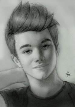 Chris Colfer by AngelofLonelyness
