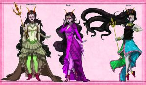 Feferi Designs by EiraQueenofSnow