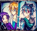 Commission : Servamp Aceo cards! by AdeSlowmoQueen
