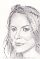 Pencil Study: Naomi Watts by phantastes