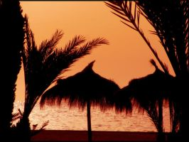 Sunset on Djerba 02 by garbo009