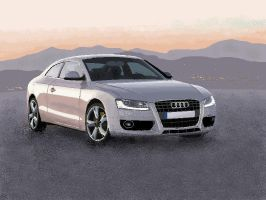 audi a5-ms paint.. by rohith291991
