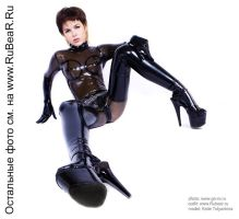 Latex catsuit2 by SexMishN