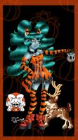 Monster High OC: Aisling Skellington- Detailed by NemoTurunen