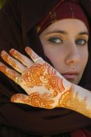 ~Arabic henna art in Bali~ by Emeraldserpenthenna