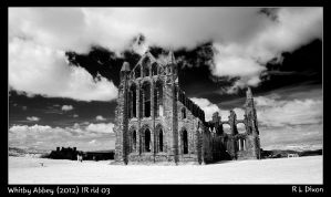 Whitby Abbey 2012 IR rld 03 by richardldixon