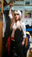 Fem Enjolras Cosplay by SunshineAlways