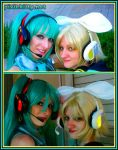 Vocaloid Headphones by pixiekitty
