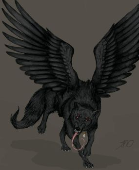 Crow by EvilSaintGood