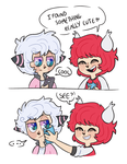something cute (gift comic) by Paryficama