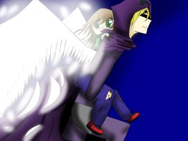Mysterion the angel by Milocycle