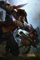 League of Legends - Twisted Fate vs. Graves by FAYSON1337