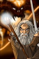 LOTR: Gandalf vs. the Balrog by grantgoboom