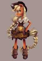 Magical Girl - Apple Jack by My-Magic-Dream