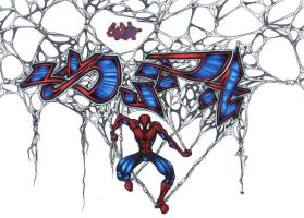 spidey piece by bumblebee