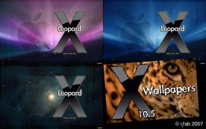 Leopard X - Wallpapers by iFab