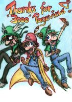 Thanks for 3000 Pageviews :D by Cora-Dilcoroc