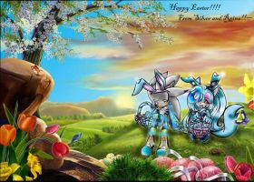Happy Easter My friends :3 by Reina-wOlf