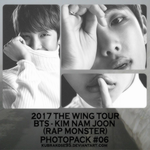 2017 BTS THE WING TOUR RAP MONSTER by kubrakose95