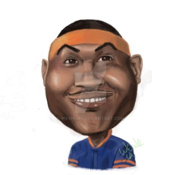 Melo Caricature by wewk584