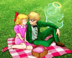 V-day Contest - Picnic Lunch by Mystic-Fire