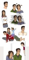 Derek and Laura Dump by rhymeswithmonth