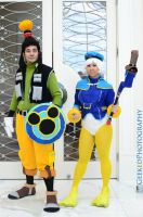 Goofy and Donald Cosplay Katsucon 2015 by thyknigttemplar