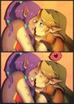 Commission: Link and Abigailia by Zellie669-commishes