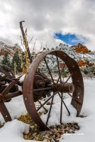 Snow Plow by DavidMCoyle
