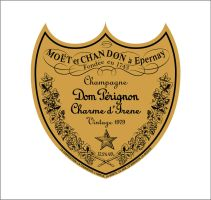 Dom Perignon label by coolerSSS