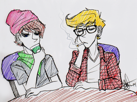 FOP - Hipsters by W-i-s-s-l-e-r