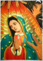Our Lady of Guadalupe by InnocenceBurning