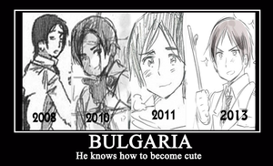 Hetalia Bulgaria Motivational Poster by katnel88