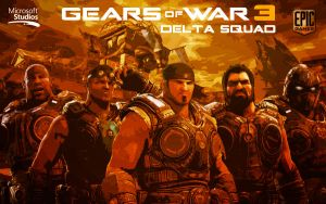 GoW3 Delta Squad by Welterz