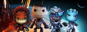 Mass Effect 3 x Little Big Planet by JohnShepardBF3