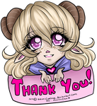 :.Request - Luna thanks You.: by HokoriCupcake