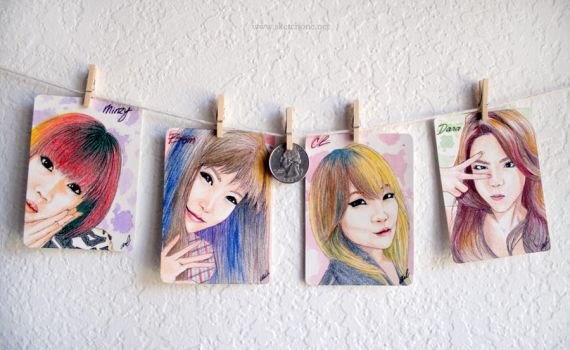 2NE1 Mini Collection by antuyetlai