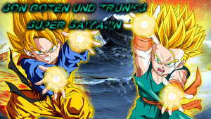 Wallpaper Nr 51 Dragonball Son Goten und Trunks SS by WallpaperZero