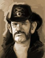 Lemmy Sketch by Mancomb-Seepwood