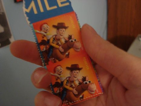 Woody and Jessie Stamps by spidyphan2