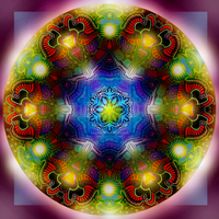 Mandala 11 - Collaboration 2 by Mandala-Jim